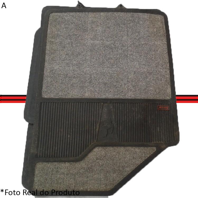 Tapete Escort 84 a 92 Escort Hobby 92 a 95 Verona Apollo 90 a 92 Carpete Cinza  - Amd Auto Peças