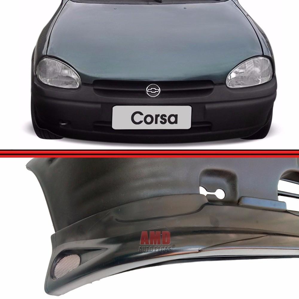 Spoiler Dianteiro Corsa Wind Super Hatch Wagon Sedan Pick-Up 93 a 99 Com 3 Telas