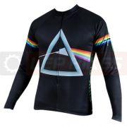 Camisa para Ciclismo Manga Longa - Pink Floyd