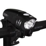 Farol / Luz / Lanterna Dianteiro NiteRider Mako 100 para Bike
