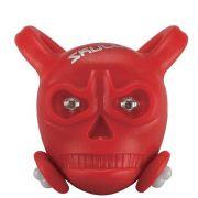 Vista Light Skully Vermelho Dianteiro  (caveirinha de silicone)