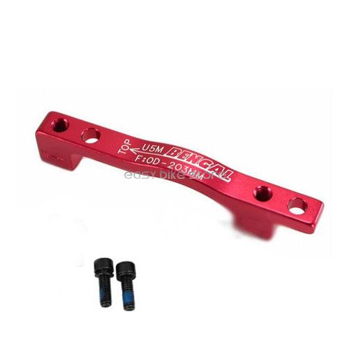 Adaptador freio disco Bengal U5M 203mm PM/PM (Diant/Tras) Vermelho