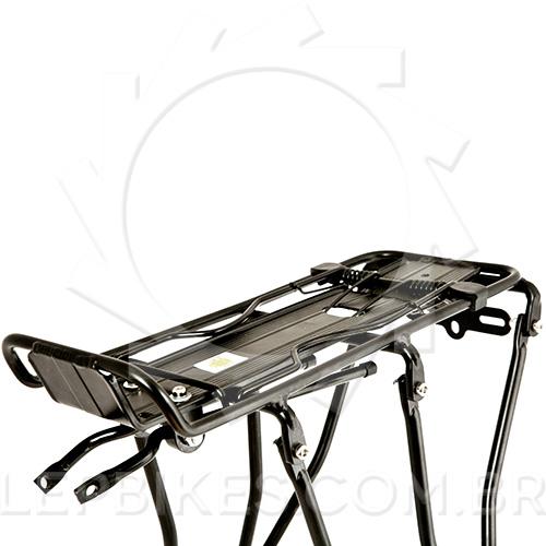 Bagageiro Traseiro Bike c/ Reg p/ Freio Disco / v-brake - 26 / 27.5 / 29