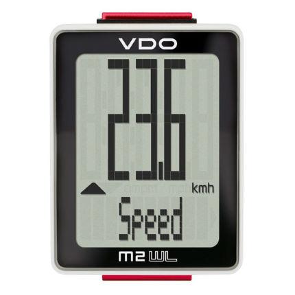 Ciclocomputador VDO M2.2 sem fio 10 fun��es
