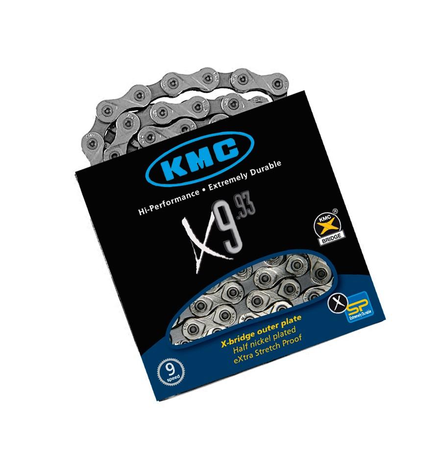 Corrente KMC X9 9 velocidades