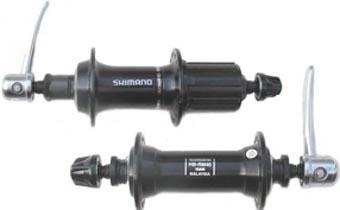 Conjunto de Cubos Shimano RM30/40 K7 8v a 10v 32 furos