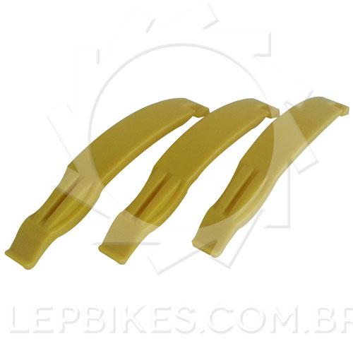 Kit / Jogo com 3 Espatula Calypso para Remoção de Pneu de Bike