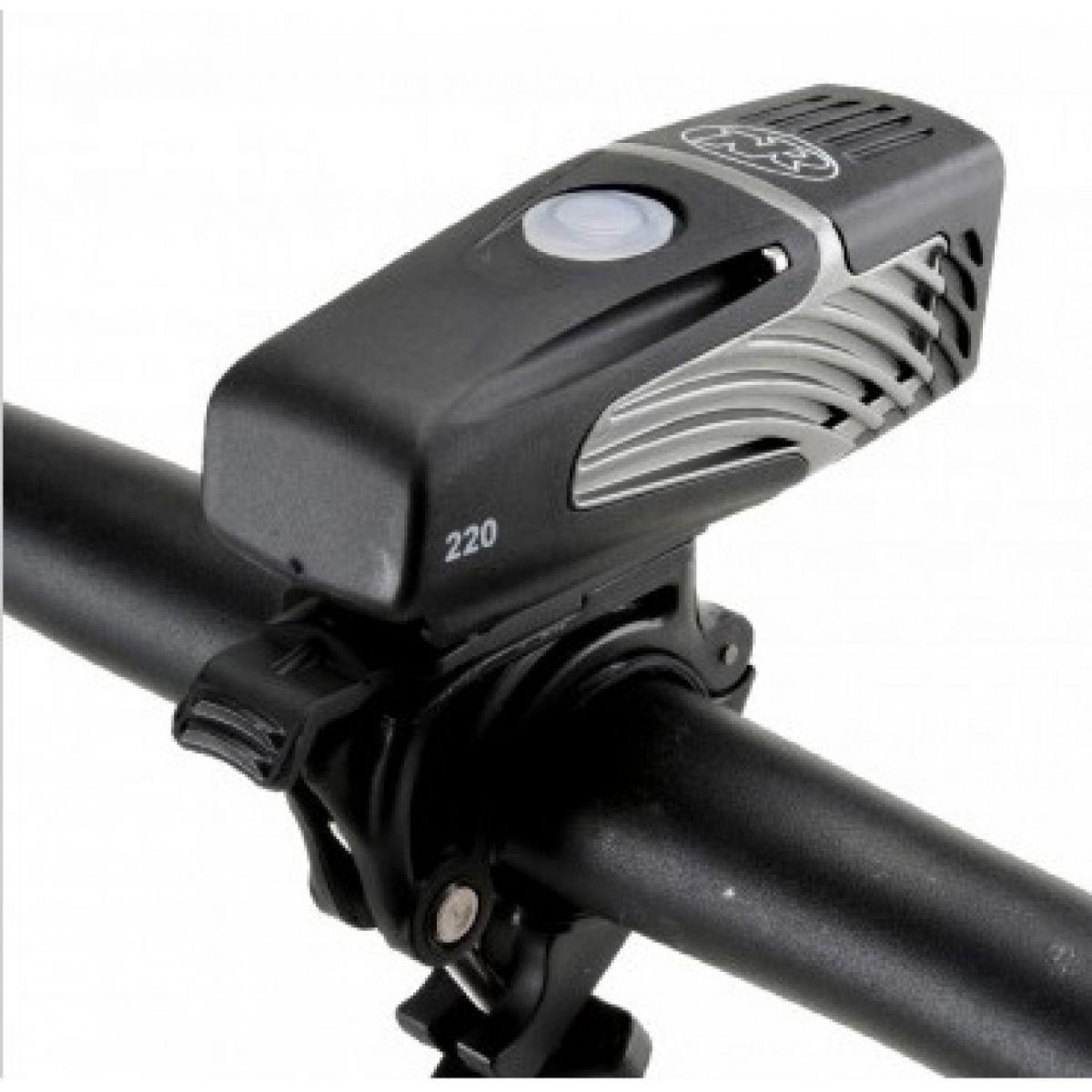 Farol / Luz / Lanterna Dianteiro NiteRider Lumina 220 para Bike