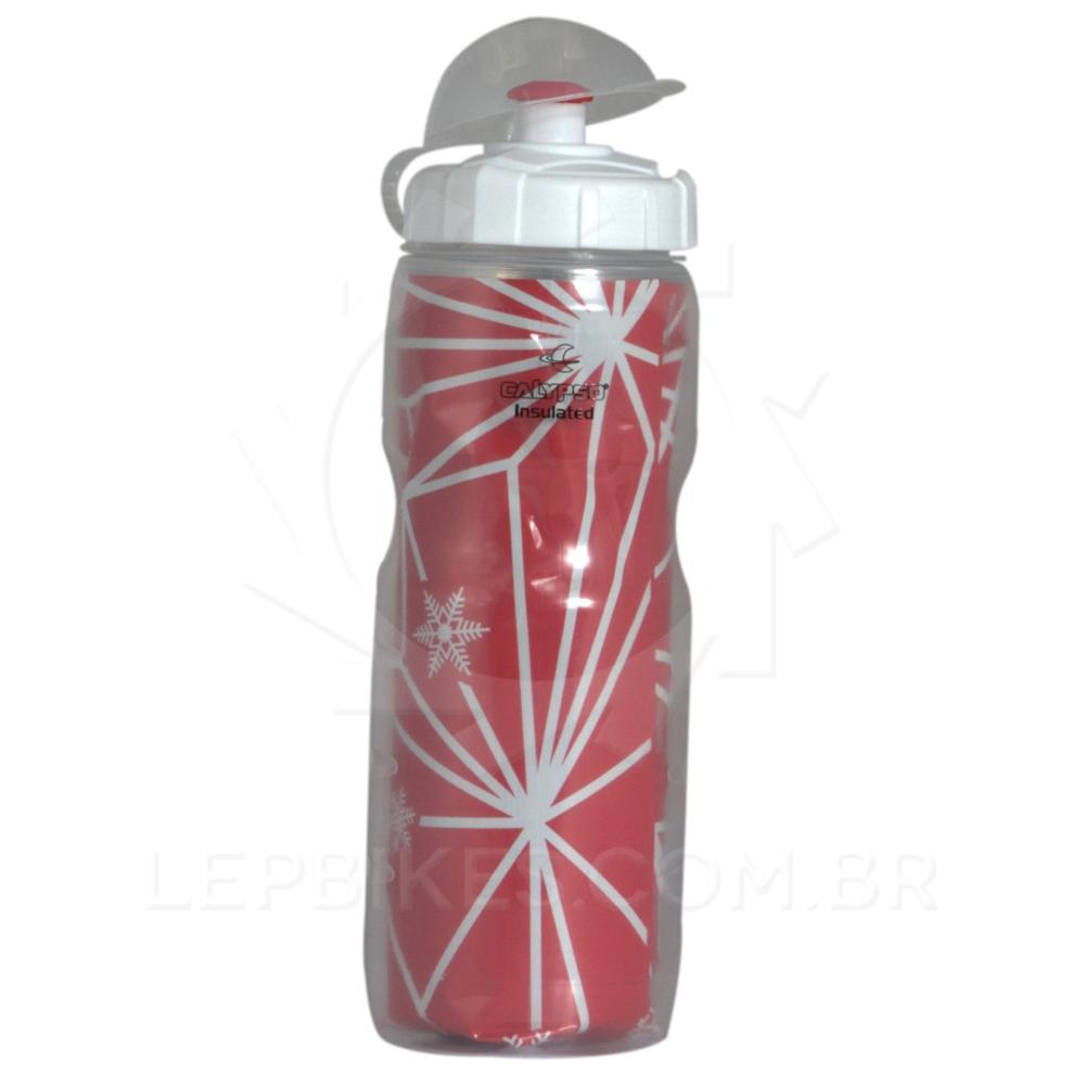 Caramanhola / Garrafa Isotérmica Vermelha Calypso 500ml