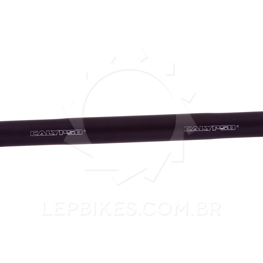 Guidão Speed Preto 25,4mm Calypso