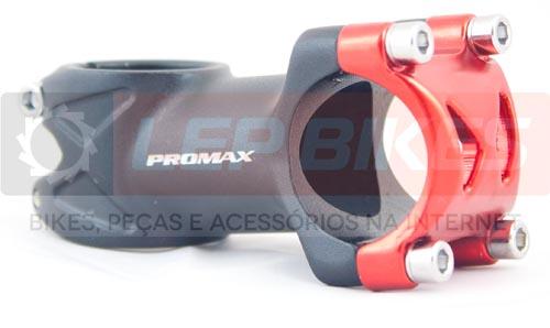 Mesa / Avanço Promax 6º 60mm Preta e Vermelha 31.8mm - 170g