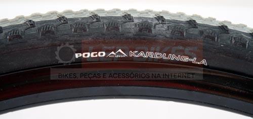 Pneu Pogo Kardung-la 700x35 Kevlar (Ciclocross / Serve em 29) 360g