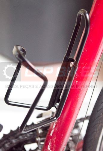 Suporte Garrafa / Caramanhola Bike em Alum�nio Preto Calypso