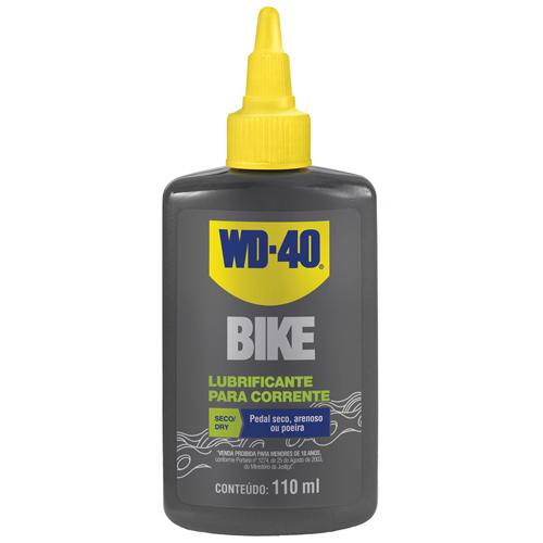 Lubrificante para Bike WD-40 Seco / Dry 110ml