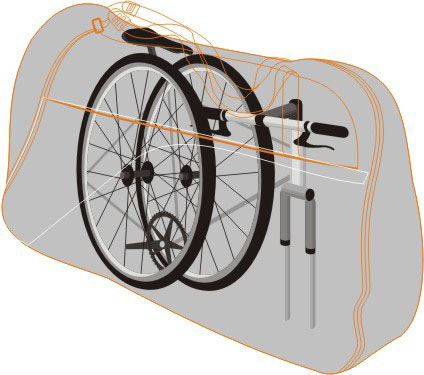 Mala para Bicicleta / Mala Bike Aro 26
