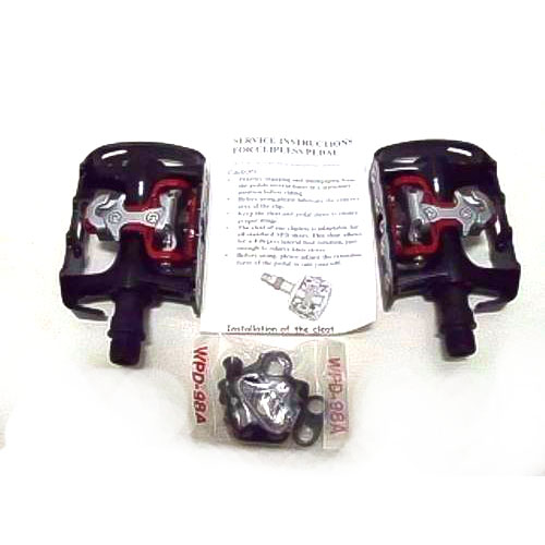Pedal Wellgo M 998 Clip / Engate SPD  / Tipo dupla face