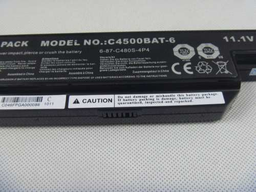 Bateria Notebook Para Clevo C4500bat-6  4400mah 11.1v - EASY HELP NOTE