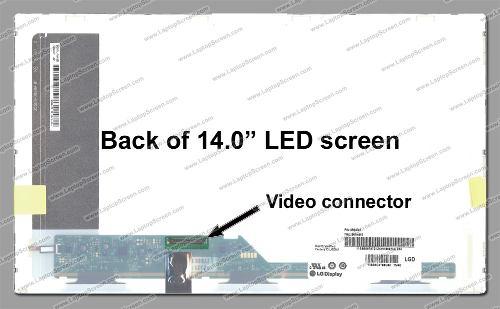 Tela Led 14.0 Display Hd Para Asus X45u - X45 - X45ad - X45a - EASY HELP NOTE