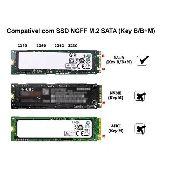 Case Adaptador Ssd M2 Sata Ngff B+m Usb 3.1 Type C 2280 - EASY HELP NOTE