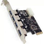 Placa Pci-e Usb 3.0 5gbps Com 4 Portas Dp-43m - EASY HELP NOTE
