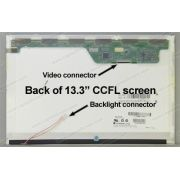 Tela 13.3 Lcd  B133ew01 V.2  Wxga 1280x800 Conector 20 Pinos - EASY HELP NOTE