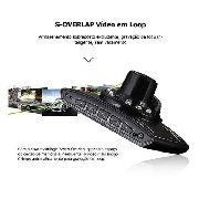 Câmera Veicular Dvr Gravação Vídeo Full Hd 1008p C/ 16gb 724 - EASY HELP NOTE