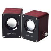 Caixa De Som Para Mp3 E Mp4  6 Watts Rms 3w+3w Tecnologia 3d - EASY HELP NOTE