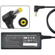 Fonte Carregador P/ Acer Aspire One Aoa150  Séries 19v 1.58a MM 480 - EASY HELP NOTE