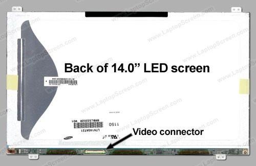 Tela 14 Led At21 Para Toshiba Tecra R840 Series 1366x768 Hd - EASY HELP NOTE
