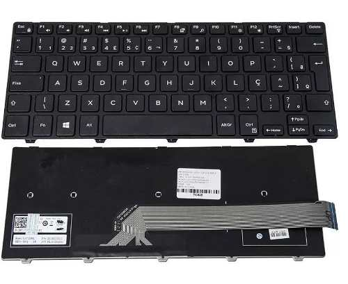 Teclado Para Dell Inspirion 14 3000 I14-3443-c40 Pk1313p1a32 - EASY HELP NOTE