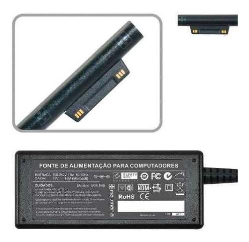 Fonte Carregador P Microsoft Surface Pro 4 M3 Series 15v 849 - EASY HELP NOTE
