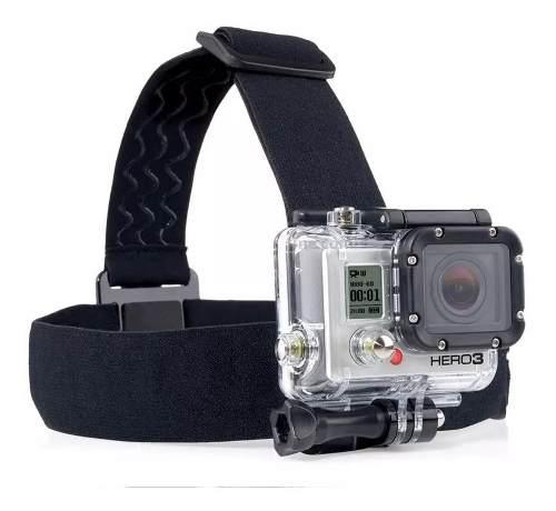 Gopro Kit 5 X 1 Suporte Cabeça Peito Bastão Agua Selfie Trip - EASY HELP NOTE
