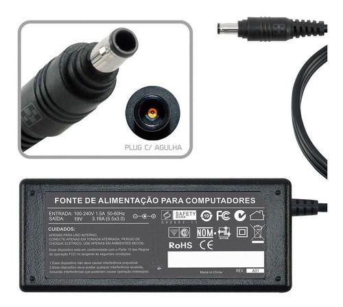Fonte Carregador Para Samsung Expertx 45 Np300e5m 60w 500 - EASY HELP NOTE