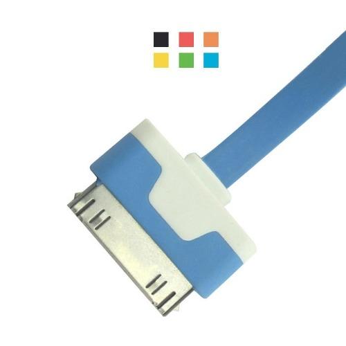 Cabo Carregador Para Iphone 4 4g Ipad2 3 Ipod Colorido - EASY HELP NOTE