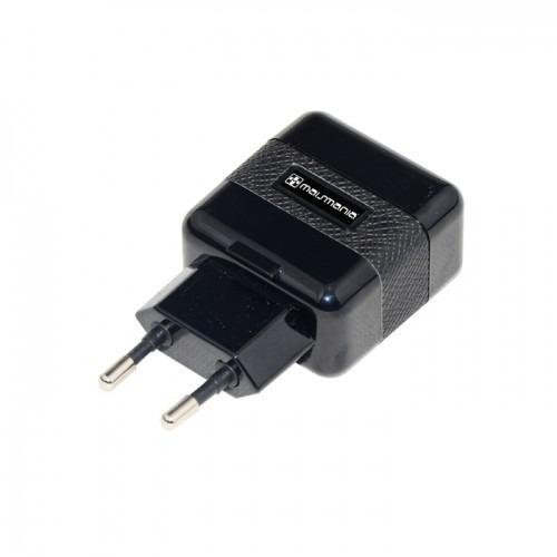 Fonte Carregador Dual Usb Preto Para Smartphone (764) - EASY HELP NOTE