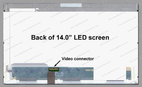 Tela Led 14.0 Para Notebook Itautec Infoway W7410 - EASY HELP NOTE