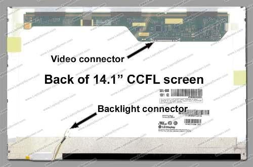 Tela 14.1 Lcd Para  Ibm Lenovo Ideapad Y430 Series - EASY HELP NOTE