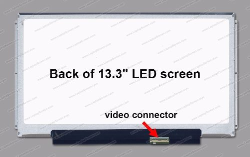 Tela 13.3 Led Slim Para Asus Ul30vt  1366x768 Hd 3 Furos Lat - EASY HELP NOTE