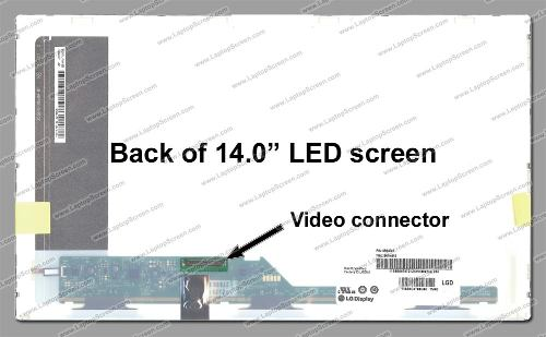 Tela Led 14.0 Para Notebook Cce Ultra Thin U25l 1366x768 hd  - EASY HELP NOTE