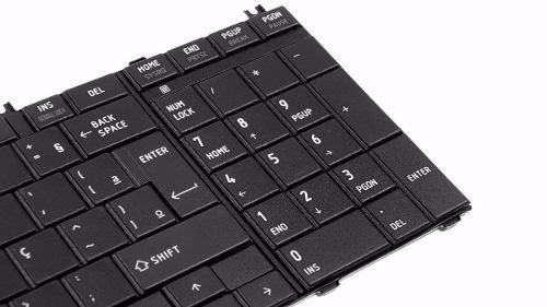 Teclado Toshiba Satélite L755d Séries Nsk-tn0gv01 - EASY HELP NOTE