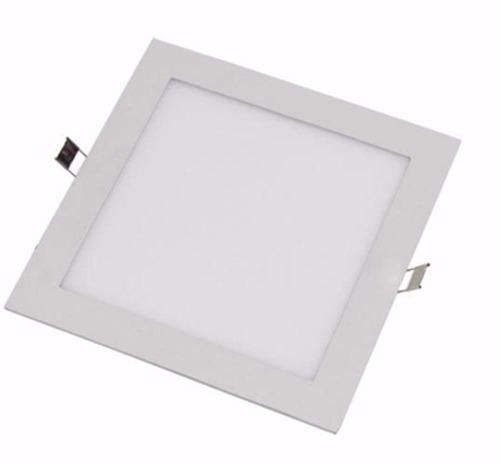 Kit 10 Painel Plafon Luminária Led Quadrado Embutir Slim 18w - EASY HELP NOTE