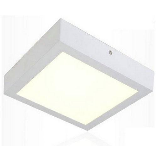 Painel Plafon Quadrado Luminária Sobrepor Led 18w Bivolt !!! - EASY HELP NOTE