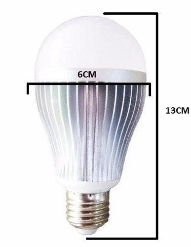 Kit 10 Lâmpada 5w Led E27 Plástico Bulbo Residência Econômic - EASY HELP NOTE