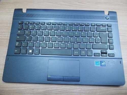 Teclado Para Samsung Np270 E4e  Ba75-04629k Ba81-18923a Azul - EASY HELP NOTE