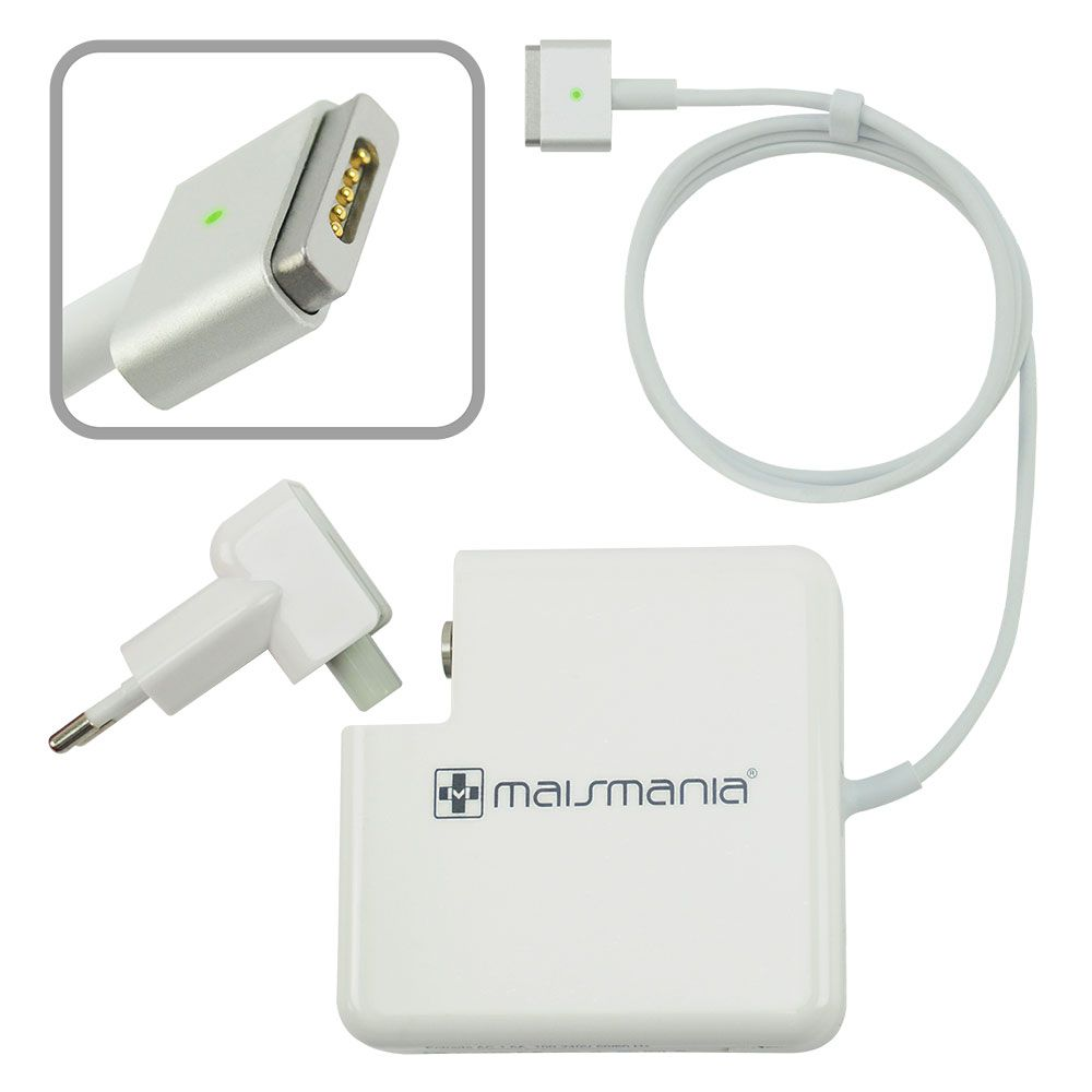 Fonte Carregador P/ Apple Macbook Pró Magsafe2 A1424 85w New MM 674 - EASY HELP NOTE