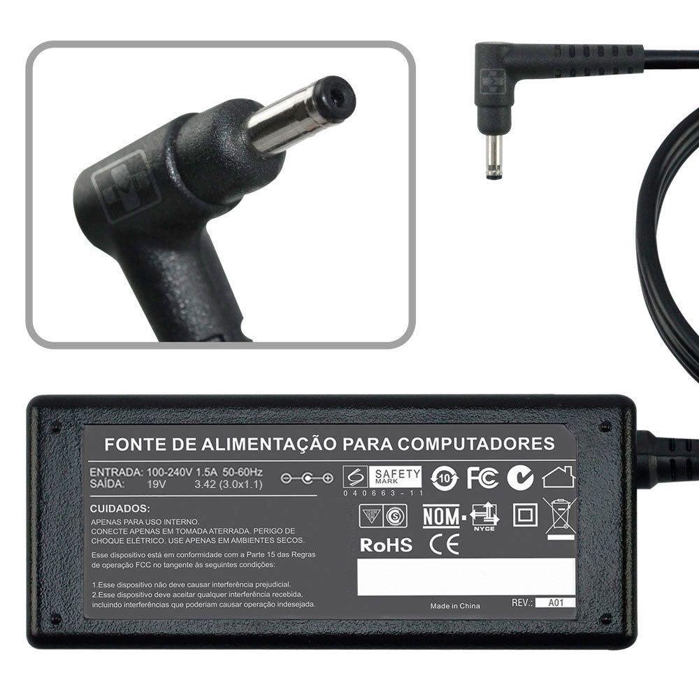 Fonte Carregador Para Acer Ultrabook Aspire S5 19v 3.42a 65w MM 688 - EASY HELP NOTE