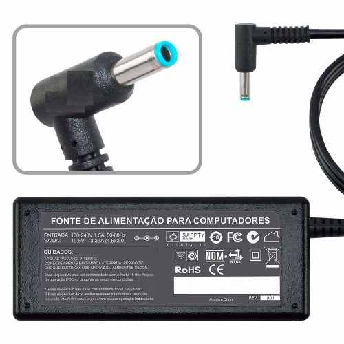Fonte Carregador Para Hp 240 G2 Tpn-q129 19,5v 3,33a 65w MM 761 - EASY HELP NOTE