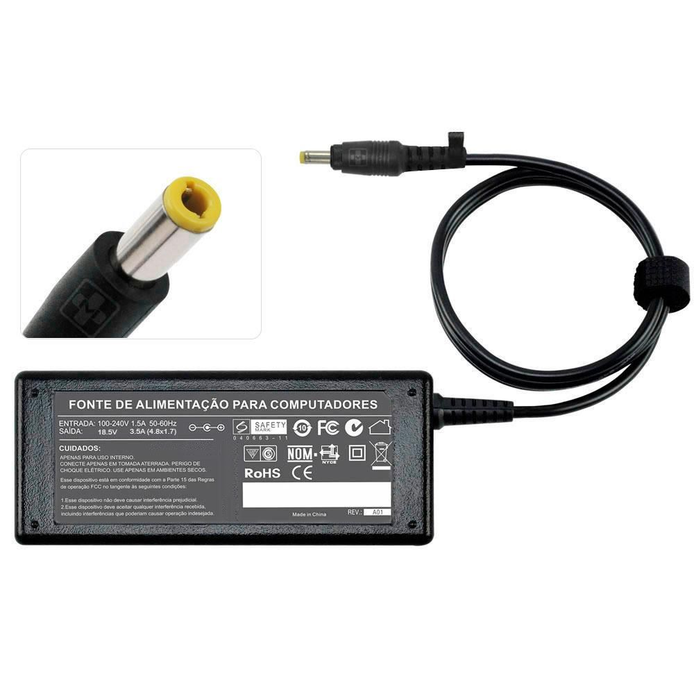 Fonte Carregador Para Hpcompac Dv1330 18.5v 3,5a 65w mm 712 - EASY HELP NOTE