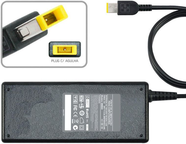Fonte Carregador Para Ibm Lenovo Thinkpad S5  20v MM 668 - EASY HELP NOTE