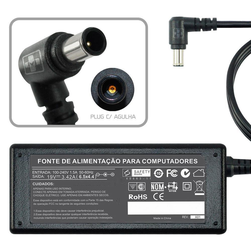 Fonte Carregador Para Lg R410 R460 R480 Plugão MM 644 - EASY HELP NOTE